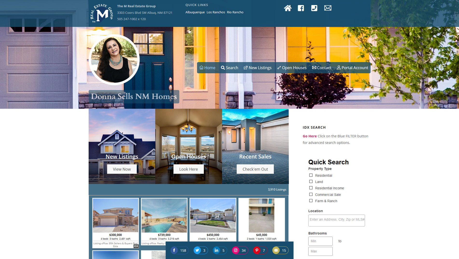 donna-sells-nm-homes--site-by-avitrio